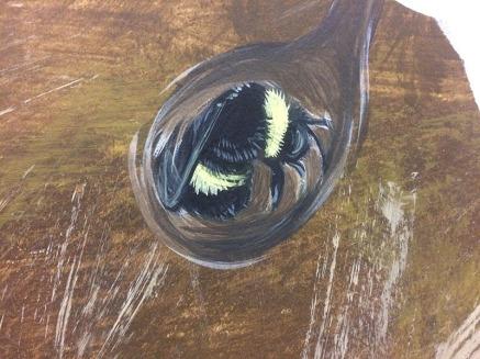 Hibernating Bumble Bee