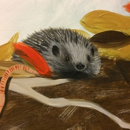 Got to have a hedgehog