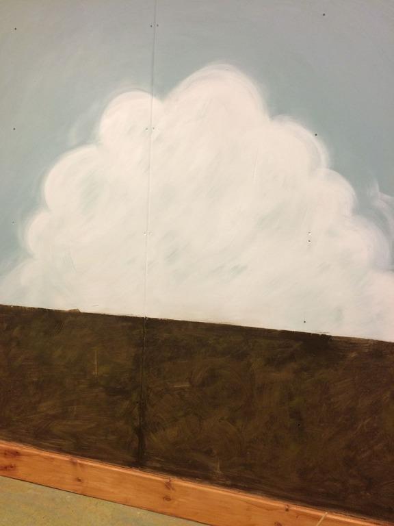 Not keen on the cartoon cloud